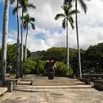 Armed Forces Memorial in downtown Honolulu