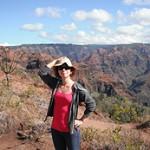 Jen at the Ilaiu Nature Loop