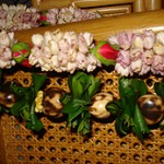 Our leis, several days after the ceremony