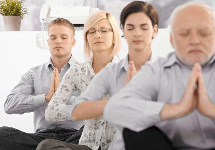 corporate wellness meditation